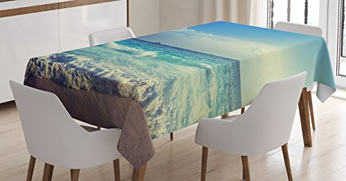 Tablecloth Table Cover Decor Family Christmas - 9