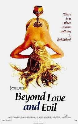 Amazon.com: Beyond Love and Evil - 1971 - Movie Poster: Posters & Prints
