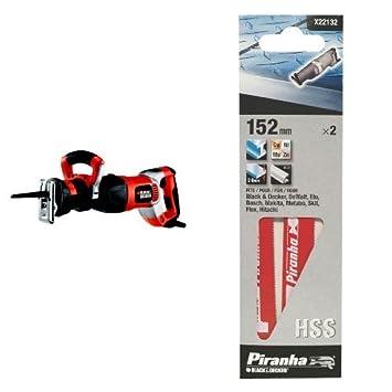 BLACK+DECKER RS1050EK-QS Sega a Gattuccio, 1050 W Black & Decker®