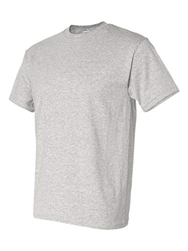 Gildan Adult 5.6 oz 50/50 Short Sleeve T-Shirt in Ash - ()