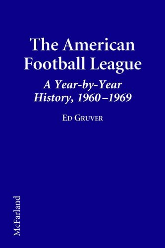 The American Football League A Year-By-Year History, 1960-1969