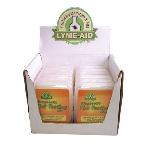 Lyme-aid Diagnostic Tick Testing Kit for Cat, Count: 12