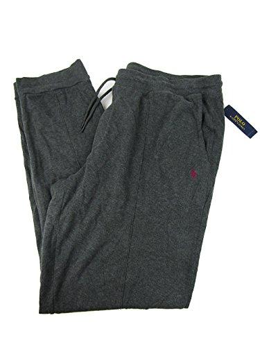 Polo Ralph Lauren Men's Big & Tall Ribbed Jogger Pants (2LT, Bristol Heather) by Polo Ralph Lauren