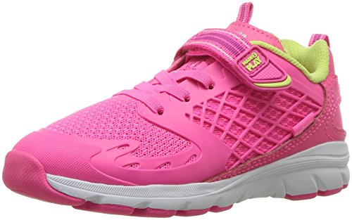 - Stride Rite Made 2 Play Cannan Running Shoe, Pink, 7 M US Toddler
