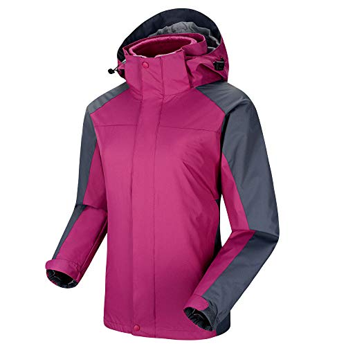 Cordon Et Polyester Ski Escalader Vêtements Camper À Dames Veste Sport Pour Purple De Imperméables Capuchon q7F8zqw