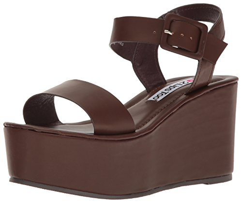 Women Brown Dress Sandal Sacha Lips 2 Too qw4ET
