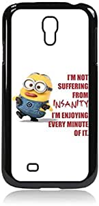 """I'm not Suffering from Insanity-I'm Enjoying Every Minute of it."" - Hard Black Plastic Snap - On Case --Samsung? GALAXY S3 I9300 - Samsung Galaxy S III - Great Quality!"
