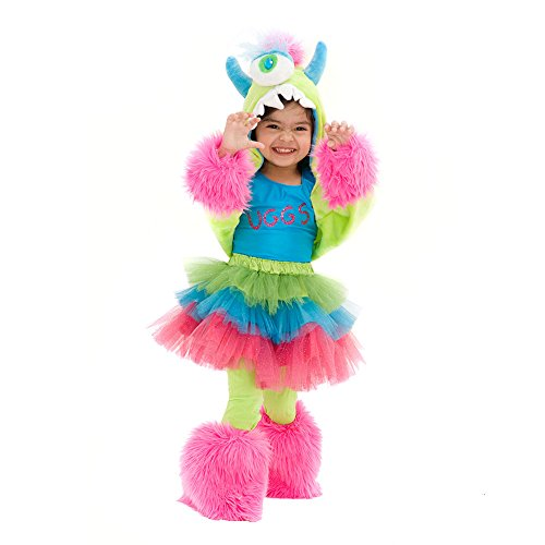 UGGSY Monstar - Premium Monster Dress-Up Role Play Halloween Costume Set for Girls by Princess Paradise (Toddler(18M to 2T) (Mixed Girl Halloween Costumes)