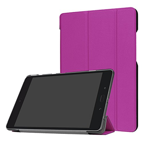 ASUS ZenPad Z8s Case, UZER Ultra Slim Lightweight PU Leather Smart Case  Protective Folding Trifold Stand with Soft TPU Back Cover for ASUS ZenPad