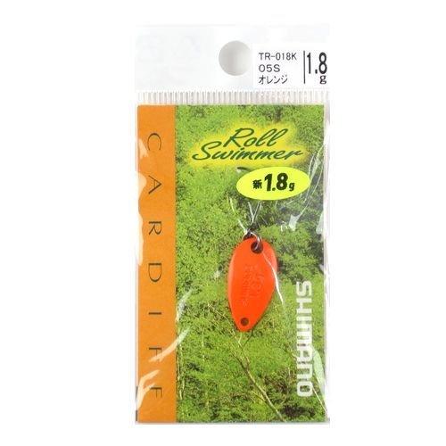 シマノ ルアー カーディフ エリアスプーン ロールスイマー 1.8g TR-018K 05S オレンジ 768407の商品画像