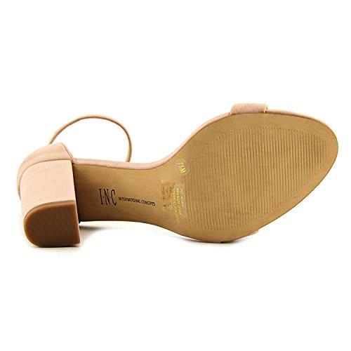 Inc International Concepts Correa De Tobillo Para Mujer Kivah Leather Open Toe Classic Pink Bloom