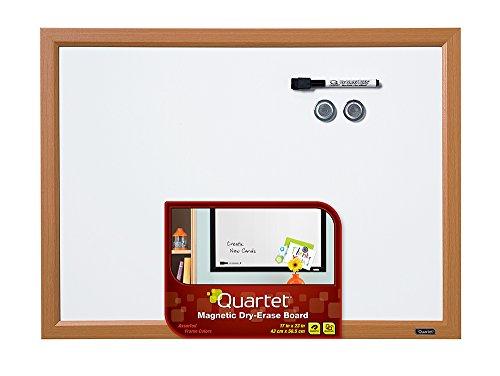 Frame Magnetic Markerboard - Quartet Dry Erase Board, Whiteboard / White Board, Magnetic, 17