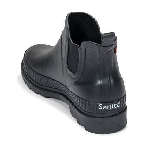 2 Stivali Welly Donna Flace Sanita pioggia da Nero w10qfa