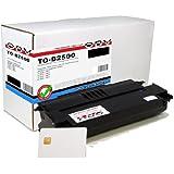 OBV Rebuild–Tóner para Oki B 2500MFP/B 2520MFP/B2540MFP/OKIFAX OkiOffice of 2510/2530equivalente a 09004391/capacidad 4000Páginas/con chip tarjeta
