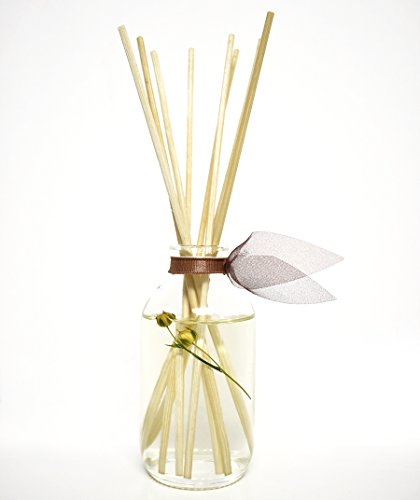 LOVSPA Cashmere Woods Reed Diffuser   Precious Woods & Sensual Amber are Blended with Soft Mimosa, Vanilla Musk, Apricot Nectar and Juicy Berry by LOVSPA (Image #2)