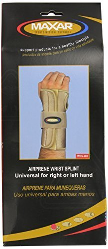 MAXAR WRS-202 Small Airprene Breathable Neoprene Wrist Splint by ITA-MED CO