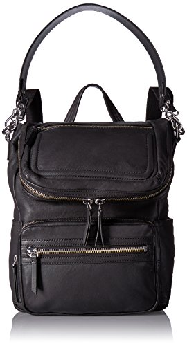 Vince Camuto Patch Backpack Backpack, NERO, One Size by Vince Camuto