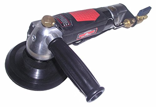 Canadian Tool and Supply 5-Inch Pneumatic Wet Polisher Air Sander with 5 8-11nc Arbor Spindle PWPS-5