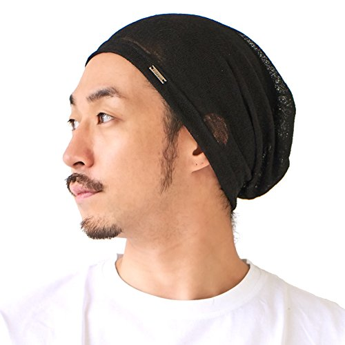 (CHARM Mens Slouchy Summer Beanie - Womens Slouch Lightweight Knit Cap Unisex Hat Light Weight Breathable Slouch Baggy Style Plain Color)