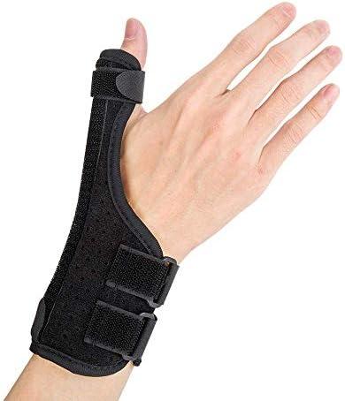 YFGlgy Thumb Spica Splint- Daumenorthese, geeignet für Arthritis, Sehnenentzündung, Karpaltunnel Schmerzlinderung...