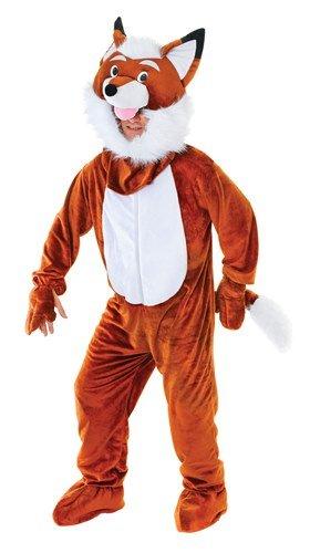 Fantastic Mr Fox Fancy Dress Costume (Mr Fox Animal Mascot Fancy Dress Costume - Fantastic Quality!)