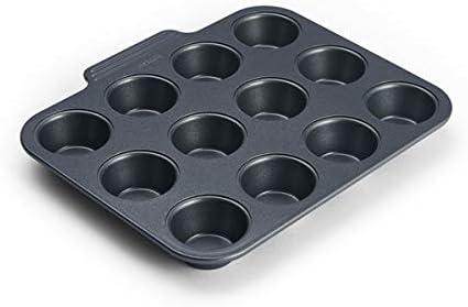 Instant Vortex Official Nonstick Mini Muffin Pan, Gray
