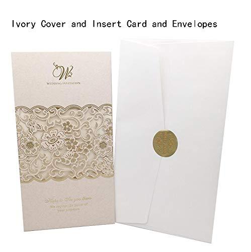 Wedding Card - Wedding Gift Card - 3d Wedding Card- 1pcs Sample White Laser Cut Wedding Invitations Card Marriage Greeting Card Lace Elegant Custom Envelopes Wedding -