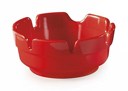 """Melamine Red Ashtray - G.E.T. Enterprises AT-4-R 4"""" Break Resistant Plastic Ashtrays, Melamine, Red (Pack of 12)"""