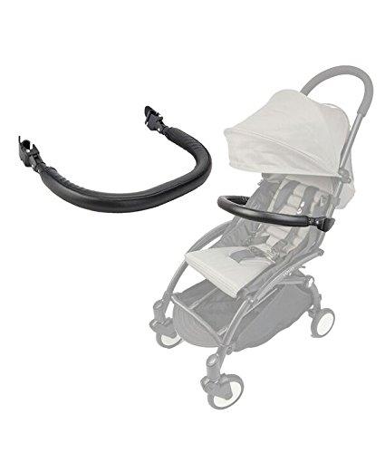 (Stroller Bar for Babyzen YoYo and Yoyo+ - Armrest, Handle, Bumper and Crossbar - PU Leather - by Neutral)