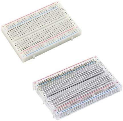 Tivollyff プロフェッショナル高精度400ポイントはんだなしブレッドボードプロトボードPCBテストはんだなしボードモジュールツール