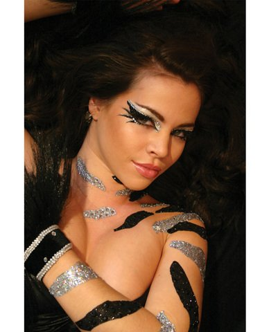 Xotic Eyes Villain Eye Kit, (Halloween Villain Makeup)