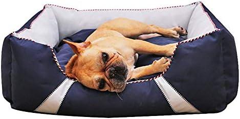 ペットマット犬用ベッド小中型および大型犬用ベッド取り外し可能および洗える、噛みにくい犬用マットレス、犬用寝ソファマットクッション (Size : M)