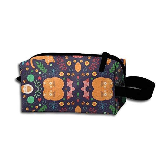 Pencil Cute Bag Cats Case Travel Quick Cosmetic Waterproof Makeup Beautiful SZwcng6q8