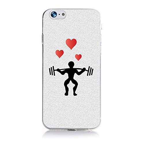 YW&F MUSCLE MAN Hülle für Apple iPhone 6 Plus