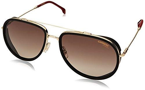 Carrera Men's 166/s Aviator Sunglasses, Gold RED, 59 -