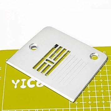 YICBOR - Placa de aguja para máquinas de coser Singer #G4A0543004: Amazon.es: Hogar