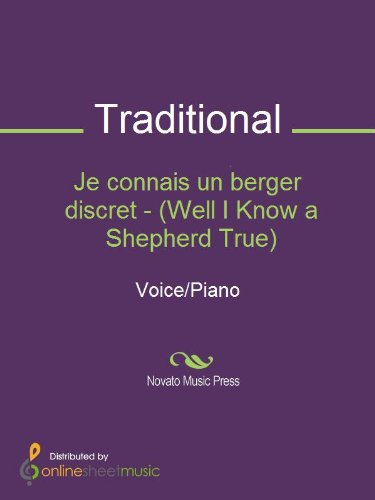 Je connais un berger discret - (Well I Know a Shepherd True)