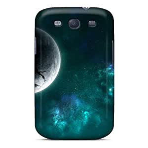New Premium HHaroldshon Digital Universe 3 Skin Case Cover Excellent Fitted For Galaxy S3