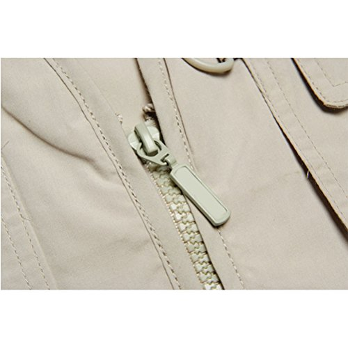 libre Mens Pocket hombre Hiking Gilet Multi Breathable aire Working Outdoor al Fishing Chaleco Zhuhaitf Cotton Jacket para Coat 3 Bodywarmer Vest 4gzXXn