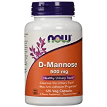 Now Foods D-Mannose 500 Mg - 120 Caps