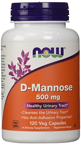 NOW D-Mannose 500 mg,120 Veg Capsules