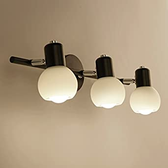 Einstellbare/Flexible Retro Spot Light/Swing Industrial Style,American Bad  Spiegel Vorne Licht
