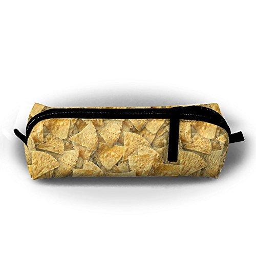 Y&C-Nan Tortilla Chips Funny Pattern Pencil Case Pen Bag Pouch Stationary Case Makeup Pencil Holders]()