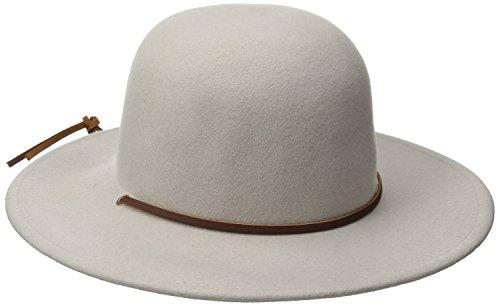 Amazon.com  Brixton Men s Tiller Wide Brim Felt Fedora Hat  Clothing bdc911602a7f