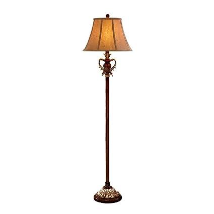 DS-Lámpara de pie Personalidad Creativa del país Americano ...