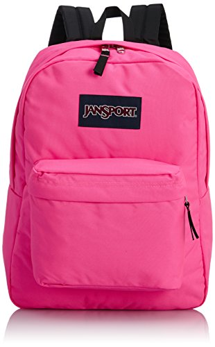 JanSport T501 Superbreak Backpack - Fluorescent Pink