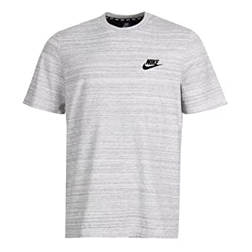 sports shoes 4c423 46ed1 Nike M NSW Av15 Top Ss Knit T-Shirt für Herren, Weiß (White
