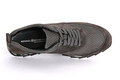 Kennel & Schmenger Wave 21 20600457 Antraciet Suede Viper - 2120600457 Grijs
