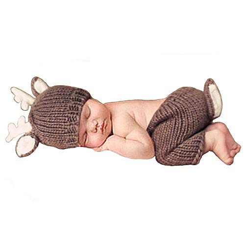Newborn Baby Photography Props Outfits Lovely Boy Hat Pant Girl
