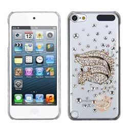 MYBAT Gold Squirrel Crystal 3D Diamante Back Protector Covercompatible with Apple iPod touch 5th Gen